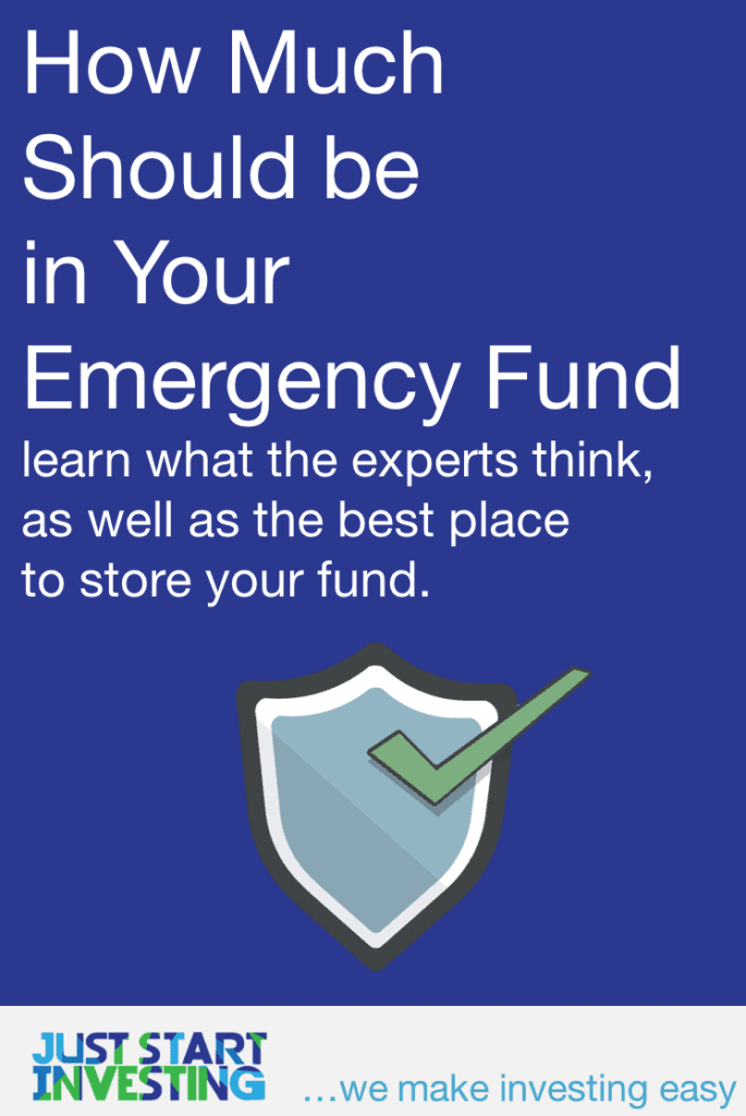 How Much Emergency Fund - Pinterest