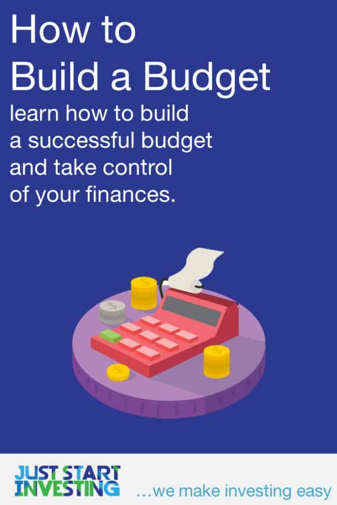 How to Build a Budget - Pinterest