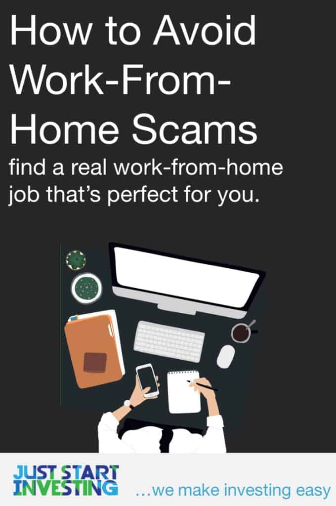Work-From-Home Scams - Pinterest
