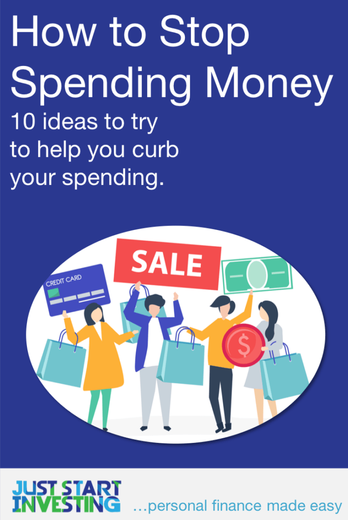 How to Stop Spending Money - Pinterest