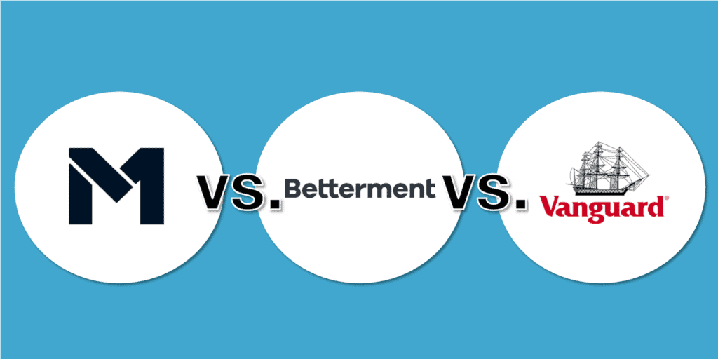 M1 Finance vs Betterment vs Vanguard Feature