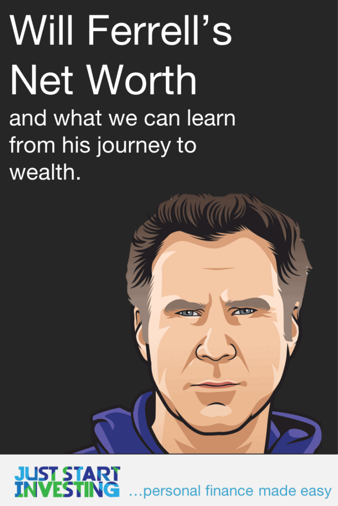 Will Ferrell Net Worth Pinterest