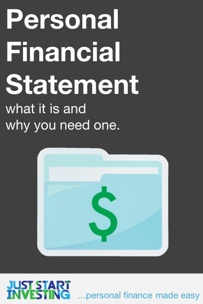 Personal Financial Statement - Pinterest